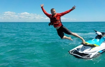 Have some fun and explore Fraser Island and surrounds on this jet ski tour Hervey Bay