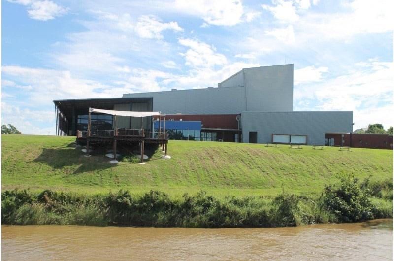 See the Brolga Theatre on a Mary River Cruise on the Spirit of Hervey Bay