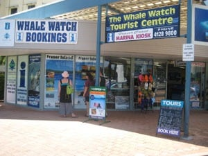 Whale Watch Booking Office - Whale Watch Tourist Centre Hervey Bay