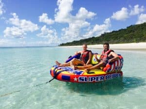 Enjoy boating, kayaking and much more on this Fraser Island tours.