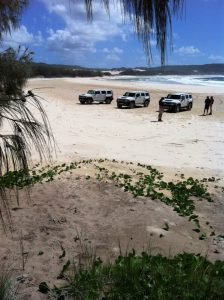 Visit all the awesome sights on this Fraser Island Hummer Tour