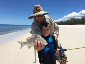 Fishing aplenty on this Fraser Island cruise